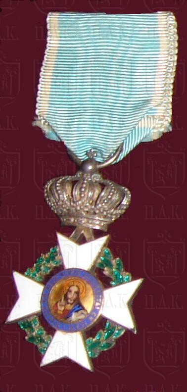 Silver Cross of the Royal Order of the Redeemer