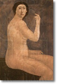 """Female Figure"" by Nicos Nicolaou"