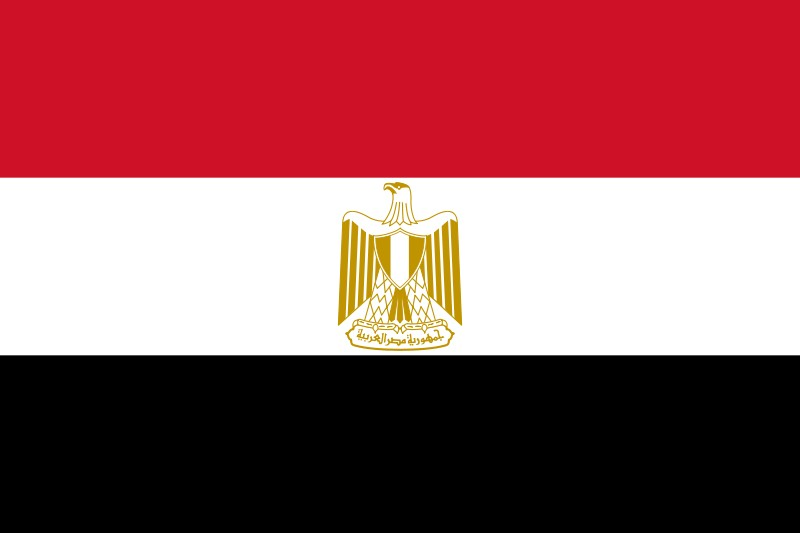 Flag of the Arab Republic of Egypt