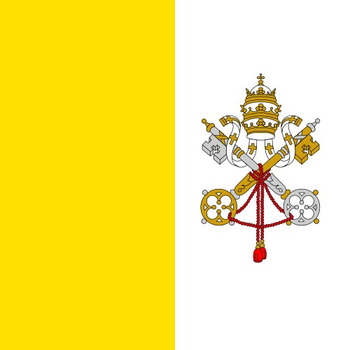 Flag of the Holy See